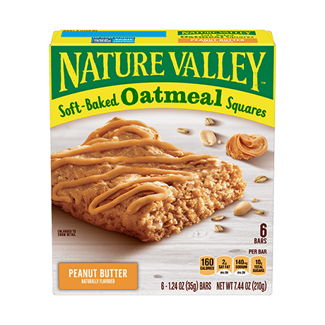 Peanut Butter Soft-baked Oatmeal Squares