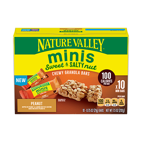 Peanut Minis Sweet & Salty Bars