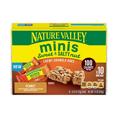 Peanut Minis Sweet & Salty Bars