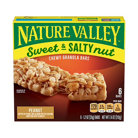 Peanut Sweet & Salty Granola Bars