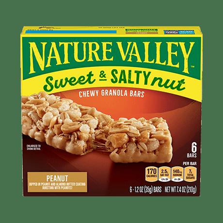 Peanut Sweet & Salty Granola Bars