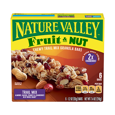 Trail Mix Fruit & Nut Bars