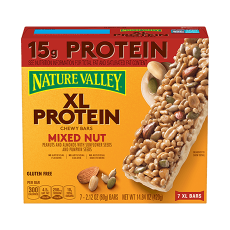 Xl Mixed Nut Protein Bars