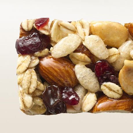 Fruit and nut bar photo