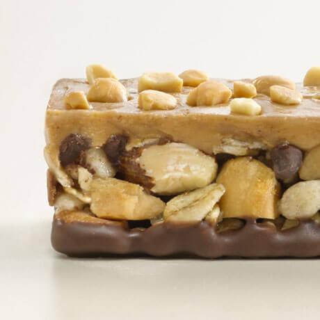 Layered Granola Nut Bar Photo