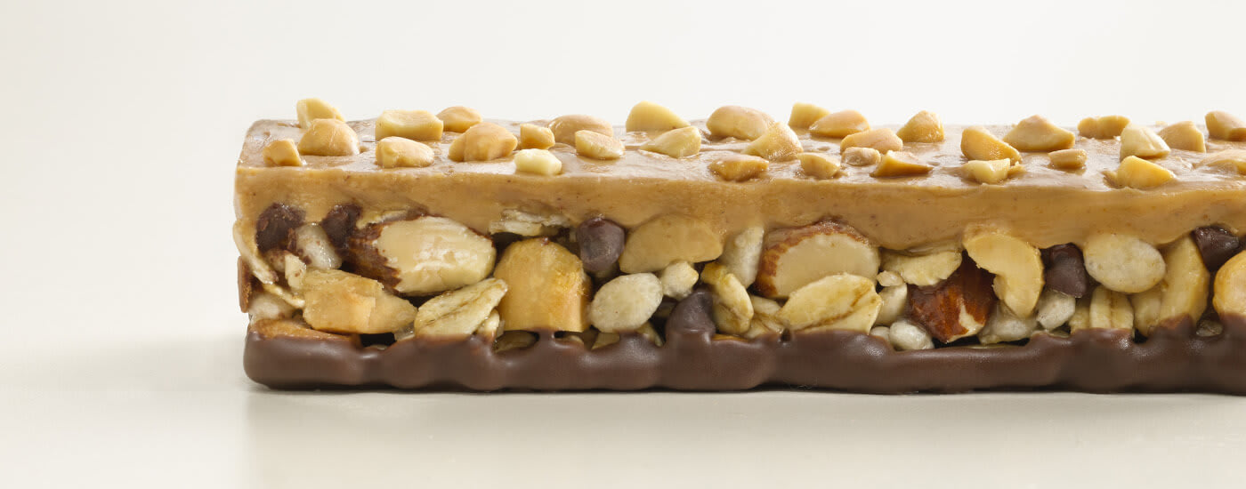 Peanut butter chocolate 3 layered bar