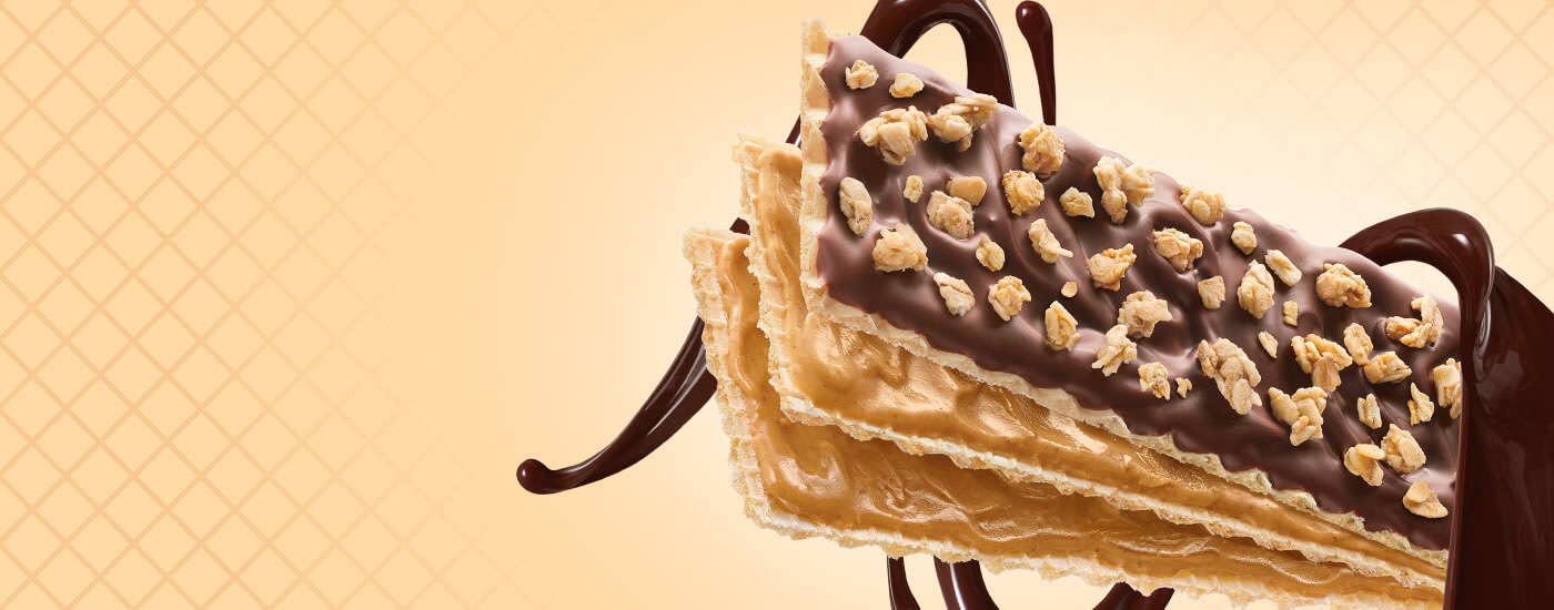 Peanut Butter Chocolate wafer bar