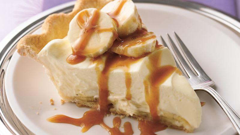 Bananas Foster Pudding Pie
