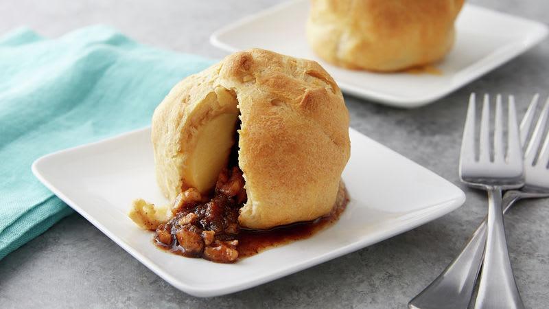 Baked Crescent Apple Dumplings
