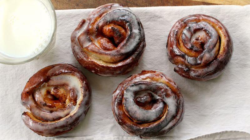 Cinnamon Swirl Doughnuts or Churros