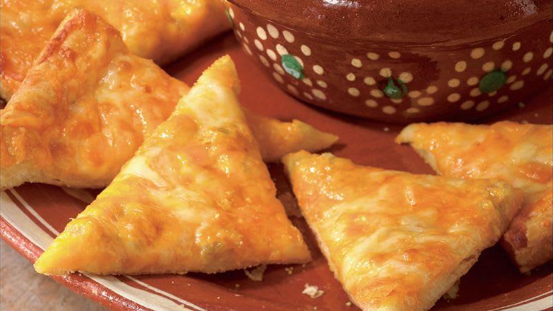 Croissants nachos au fromage