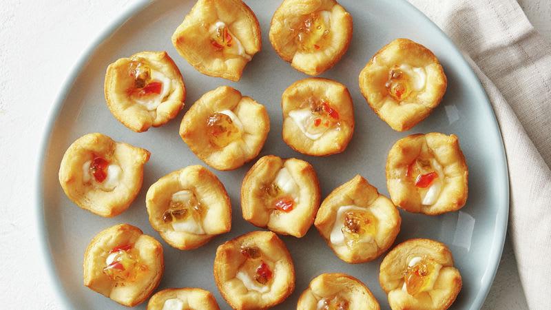 Bouchées à la gelée de piment et au fromage à la crème à 3 ingrédients