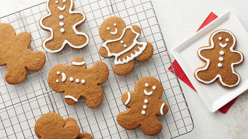 Easy Gingerbread Cookies