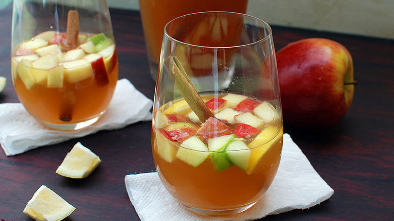 Sangria aux pommes