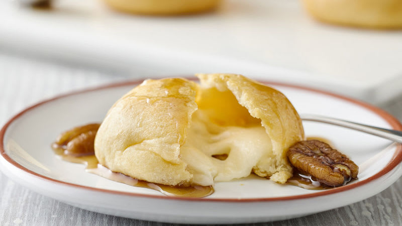Mini-fromages enrobés de croissant