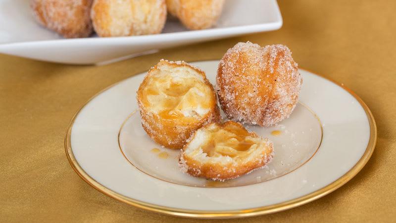 Trous de beigne de croissant au cidre de pomme