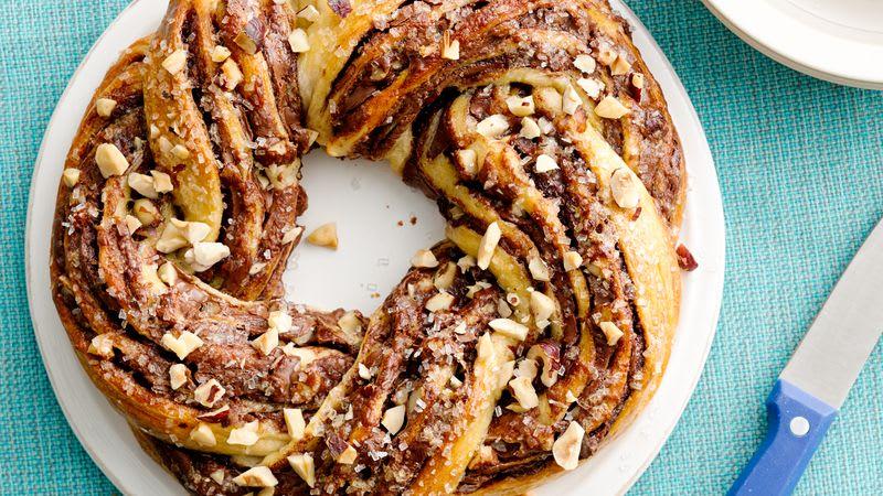 Couronne de croissant au Nutella™