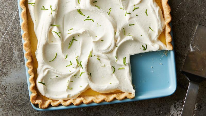 Key Lime Slab Pie