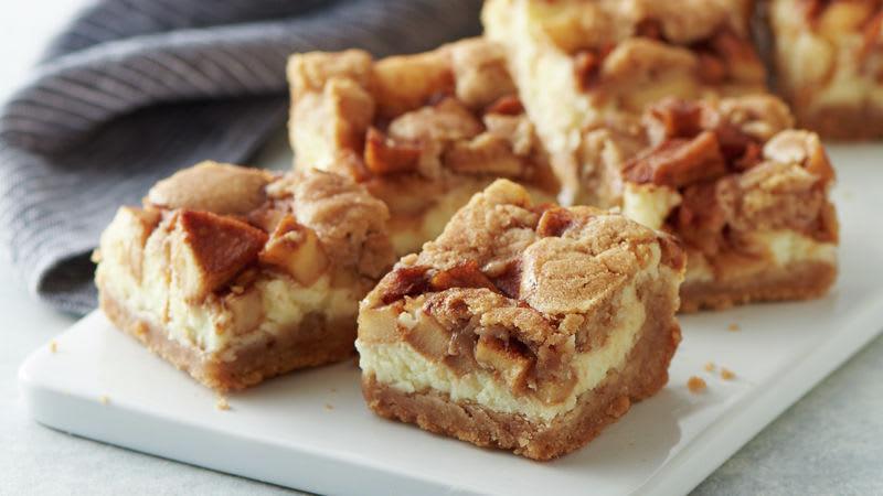 Barres-biscuits à la cannelle et aux pommes