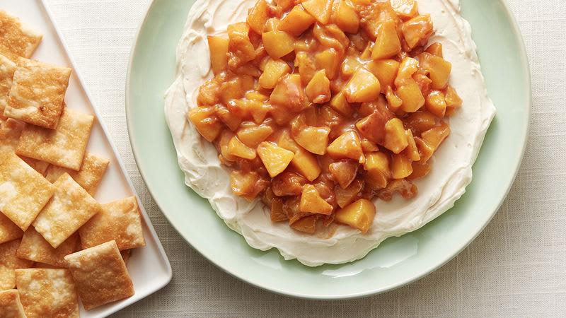 Peach Pie Dip