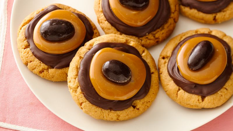 Chocolate-Almond Butter Turtles