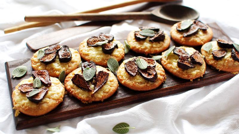 Bouchées de pizza aux figues