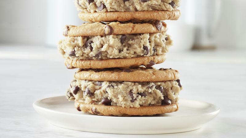 Biscuits sandwichs à la pâte à biscuits