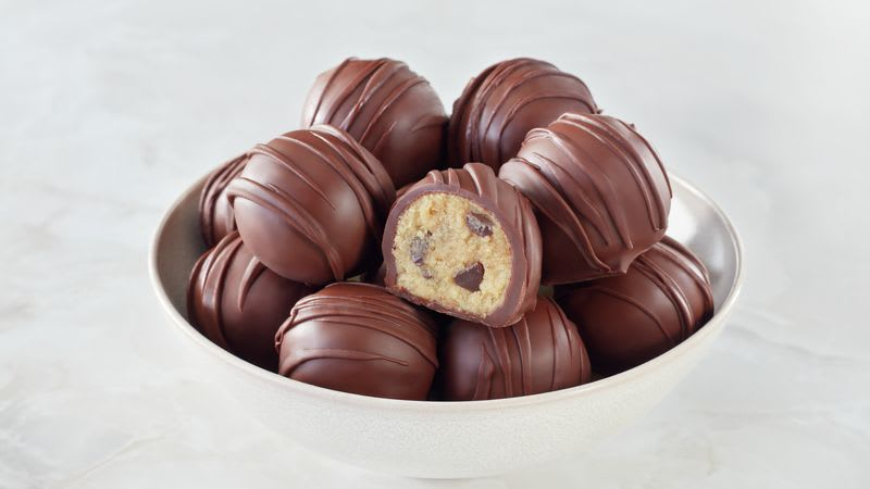 Truffes à la pâte à biscuits