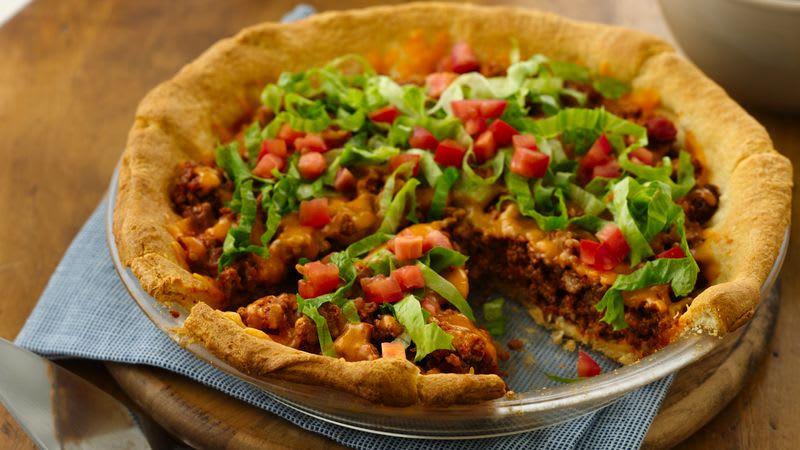 Tarte aux tacos facile