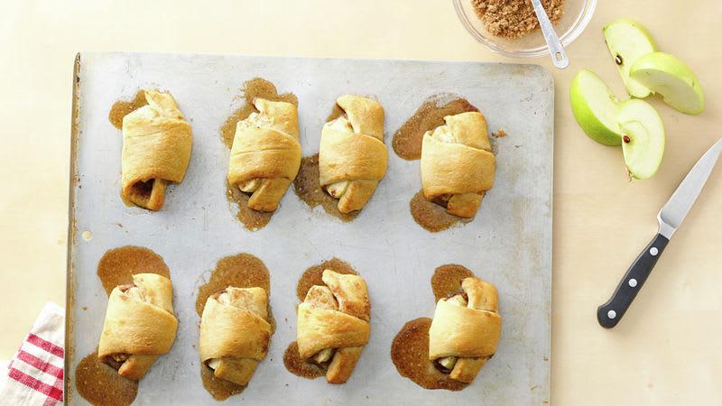 Croissants à la tarte aux pommes