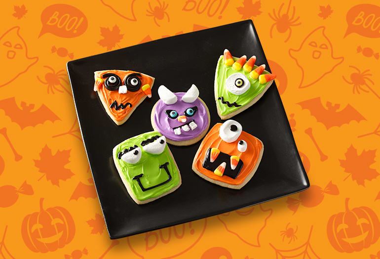Wacky Monster Cookies