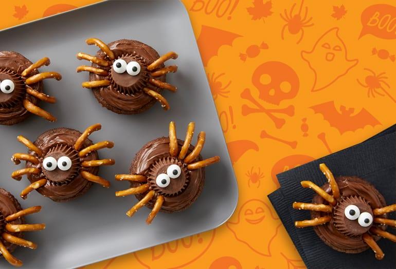 Spider Brownies
