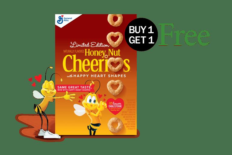 Honey Nut Cheerios Buy One Get One Free