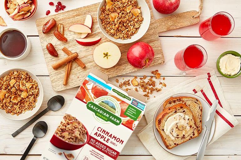 Cascadian Farm Apple Cinnamon Gronola
