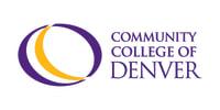 Community College of Denver CCD Logo