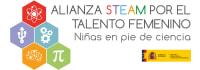 Alianza STEAM por el Talento Femenino Logo