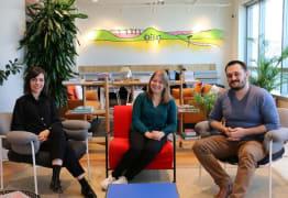 3 Alumni de la dernière promo customer care