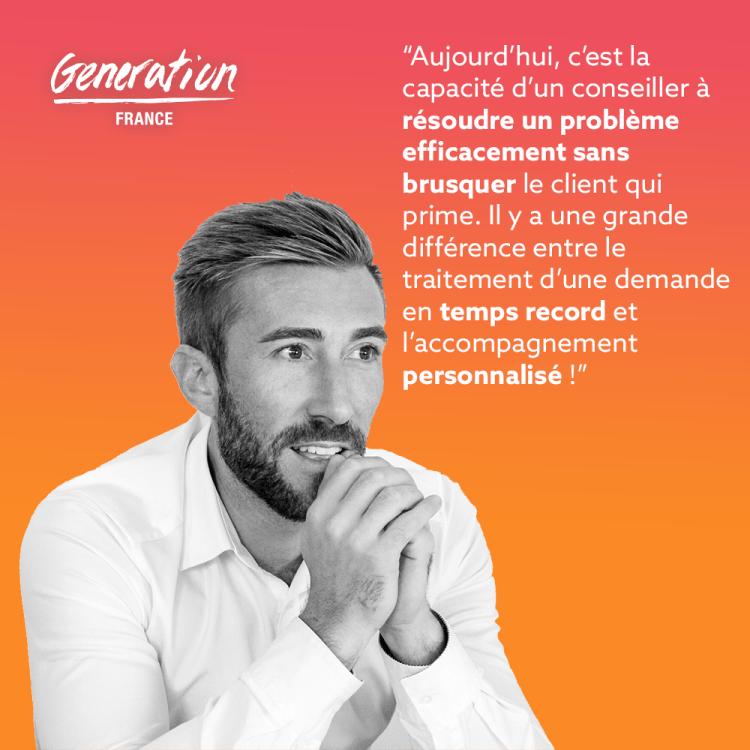 citation de Benjamin Cormerais sur la relation client