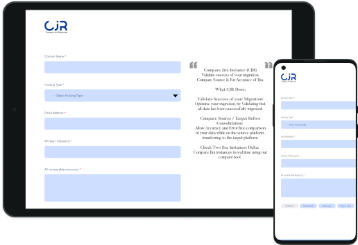 CJR: Compare Jira Resources