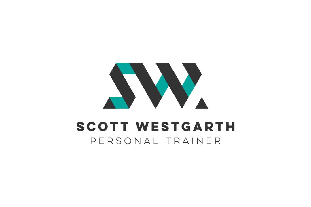 Scott Westgarth personal trainer logo design