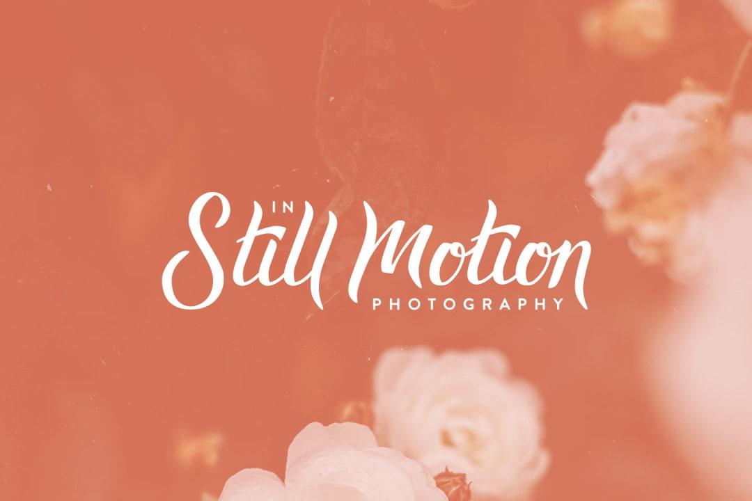 In Still Motion Photography logo design
