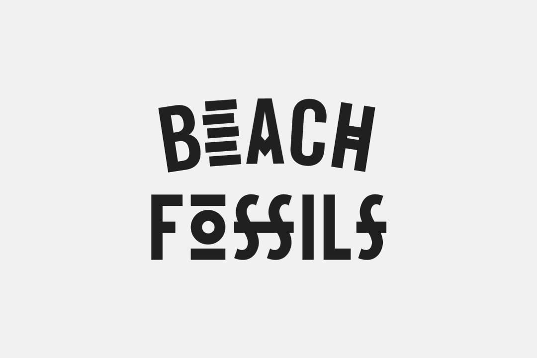 Beach Fossils Logo