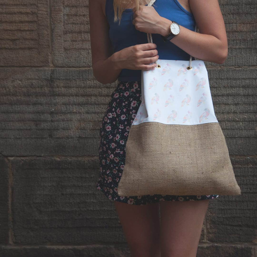 Made By Maria branded tote