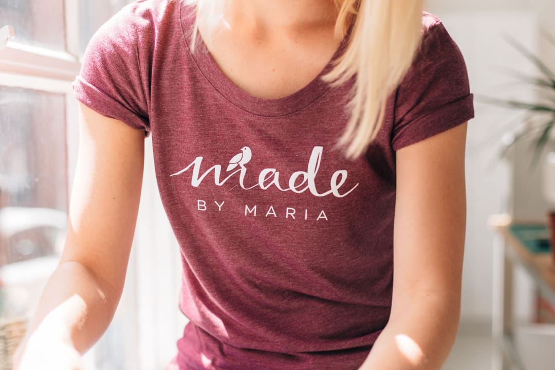 Made By Maria branding