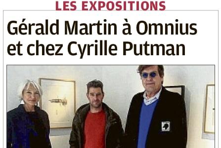 Une double exposition à la galerie Omnius et à la galerie Cyrille Putman à Arles e...