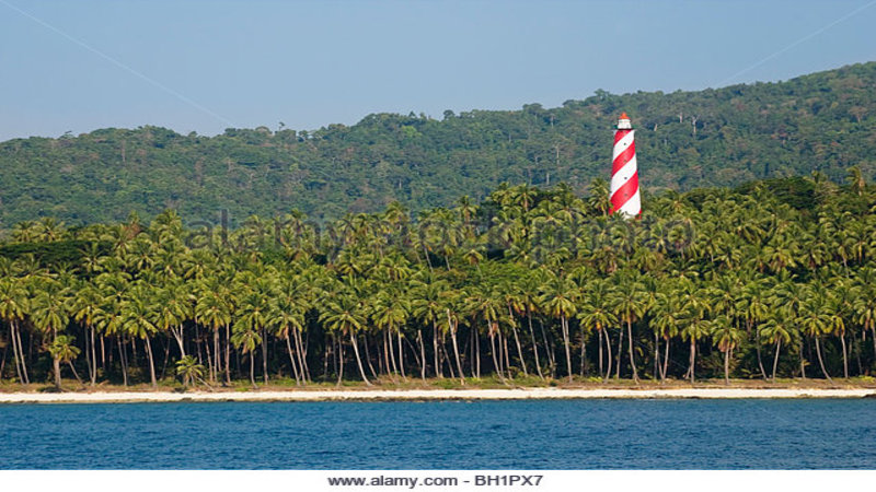 light house, little andaman, Andaman and Nicobar Islands