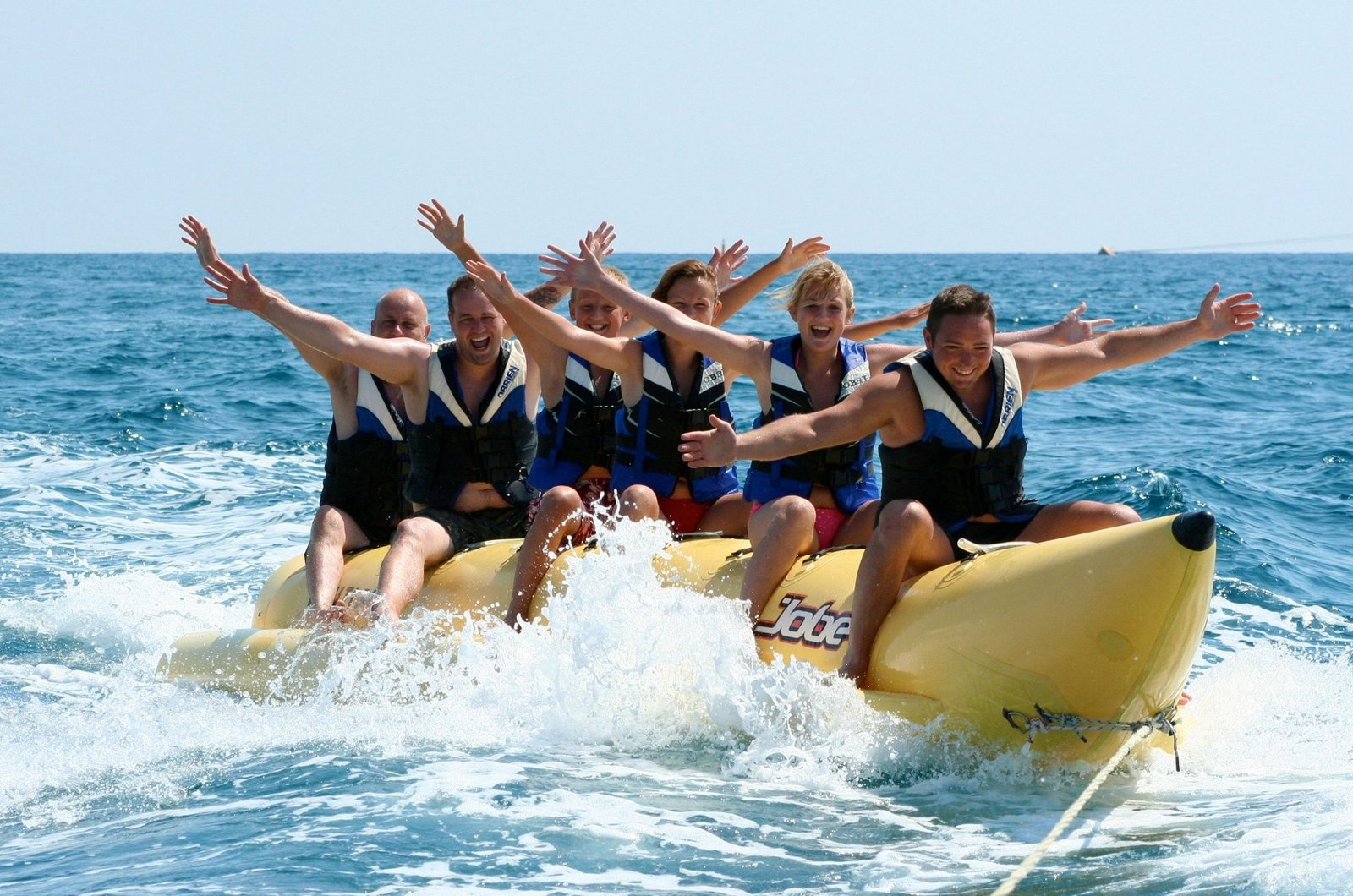 Banana boat ride-Andaman and Nicobar Islands