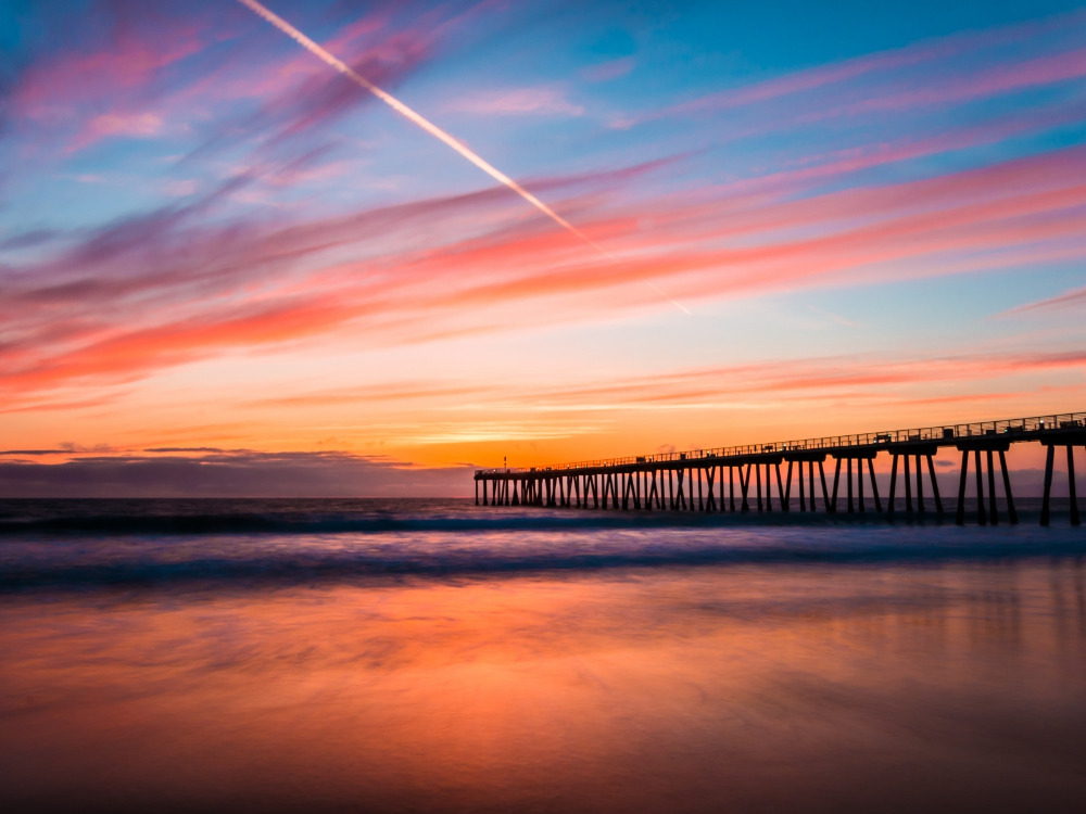 Hermosa Beach Pier sunset.jpg