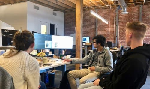 Ethos team at work