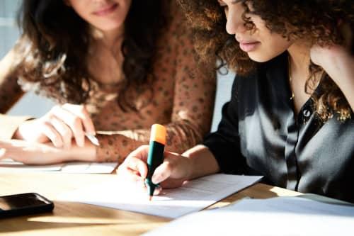 women-going-over-finances